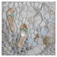 Nautical Tiles For Your Beach House. Custom Borders U0026 Murals For Kitchen  Backsplash, Bathroom, Shower Floor, Wall, And Pool | Ocean Dog Collection